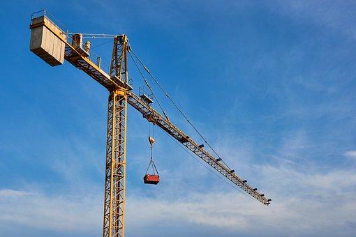 Crane, Construction Site, Building Site