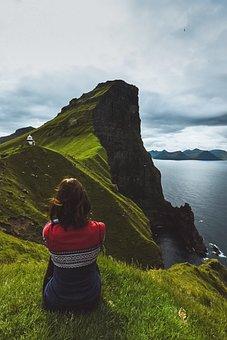 Woman, Adventure, Nature, Mountain, Female, Girl