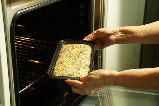 Dough, Bread, Oven, Proved Dough, Pre-baking Process