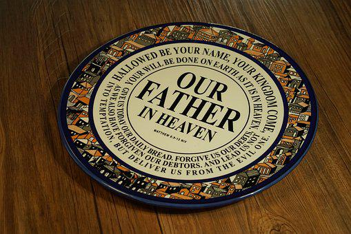 Plate, Quote, Decorative, Decoration