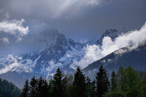 Nature, Winter, Season, Landscape, Mountains, Forest