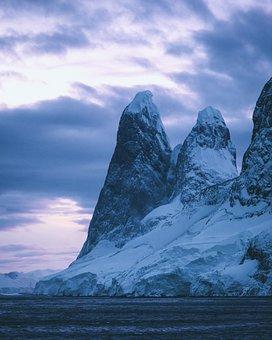 Mountains, Snow, Winter, Season, Nature