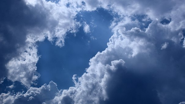 Sky, Clouds, Weather, Fluffy, Sunny