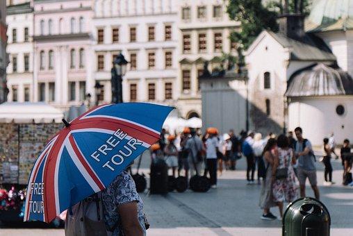 Travel, Tourism, Sightseeing, Europe, City, Crowd, Tour