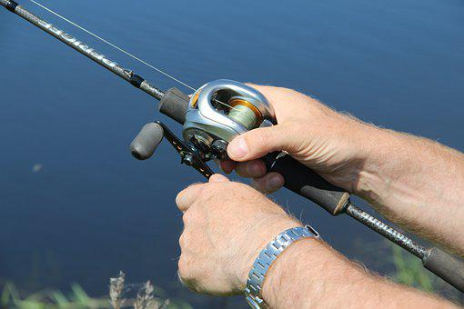 Fishing, Fisherman, Fishing Rod, Coil, River