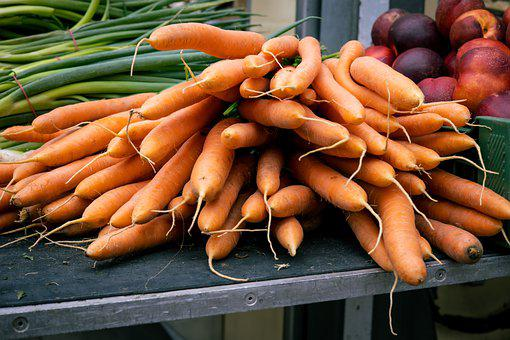 Carrots, Vegetables, Fresh, Healthy, Harvest, Salad