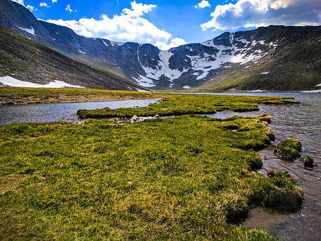 Lake, Mountains, Nature, Landscape, Scenery, Colorado