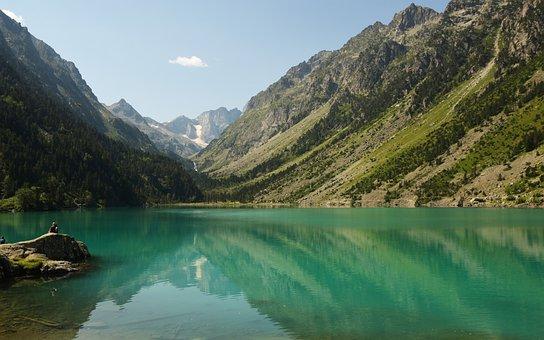 Lake, Mountains, Water, Scenery, Nature, Landscape