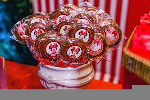 Lollipops, Snack, Chocolate, Candy, Treat, Sweet