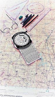 Map, Flight, Plane, Airplane, Aircraft, Travel