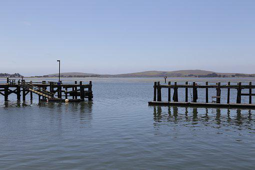 Lake, Dock, Outdoors, Travel, Open Water, Bay, Waters