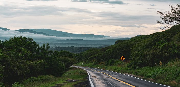 Road, Countryside, Rural, Landscape, Nature, Sky