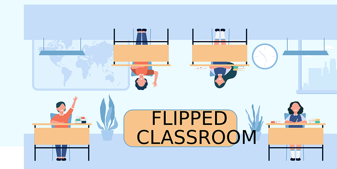 Flipped Classroom, Education, Class, Inverted Class