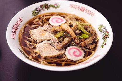 Ramen, Japanese, Food, Restaurant, Meal, Kitchen, Eat