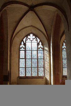 Church, Cathedral, Window, Building, Glass, Gothic