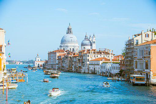Venice, Canale Grande, Architecture, Channel, City