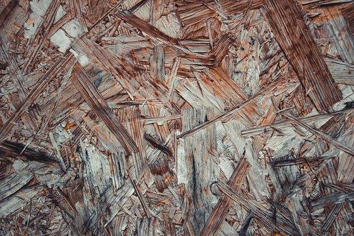 Wood, Bark, Surface, Texture, Pressed Wood, Fiberboard