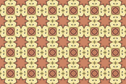 Background, Ornamental, Pattern, Retro, Geometric
