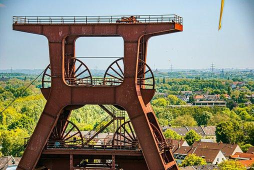 Zollverein, Mining Tower, Coal Mine, Mining, Essen