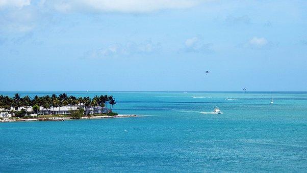 Florida Keys, Island, Sea, Beach, Ocean, Tropical