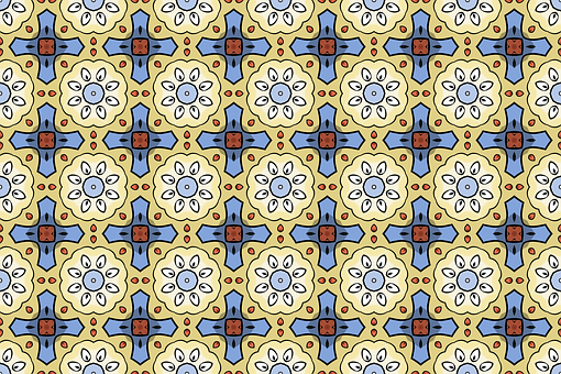 Background, Flower, Pattern, Retro, Ornamental