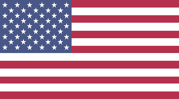 Flag, United States, Symbol, Emblem, Stars, Stripes