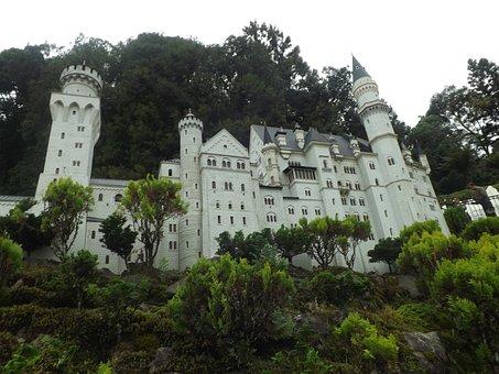 Castle, Lawn, Mini World, Miniature, Park, Attractive