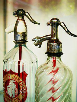 Bottle, Siphon, Old, Water, Drink, Mechanic