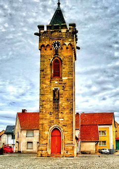 Hdr, Tower, Architecture, Building, Hdr Image, Dynamics