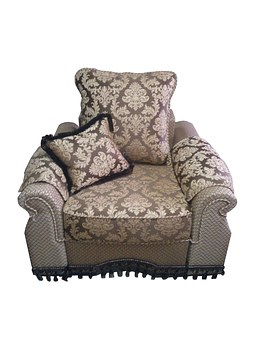 Armchair, Beautiful, Brown, Interior, Easy