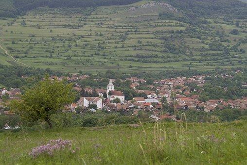 Romania, Transylvania, Erdély, Torockó, Landscape