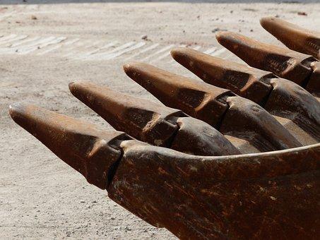 Excavator Buckets, Backhoe Bucket, Blade, Tine