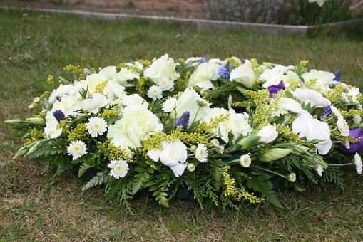 Funeral Flowers, Wreaths Of Flowers, Flower, Funeral