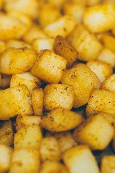 Hash Browns, Potatoes, Fried, Food, Breakfast