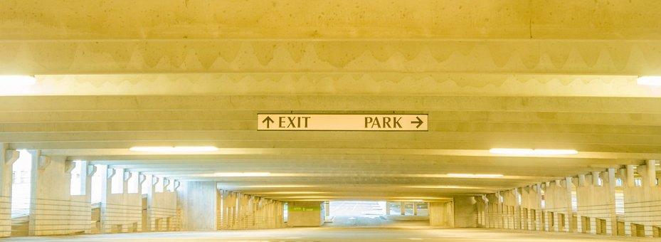 Parking, Garage, Underneath, Underground, Interior