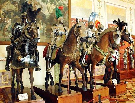 Russia, St-petersburg, Hermitage, Museum, Armor, Horse