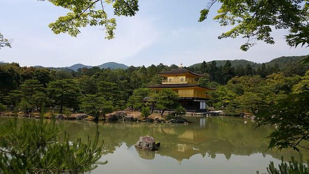 Kinkaku-ji, Japan Pavilion, Travel, Building, Tourism