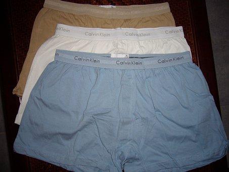 Boxer Shorts, Boxers, Underpants, Underwear, Male