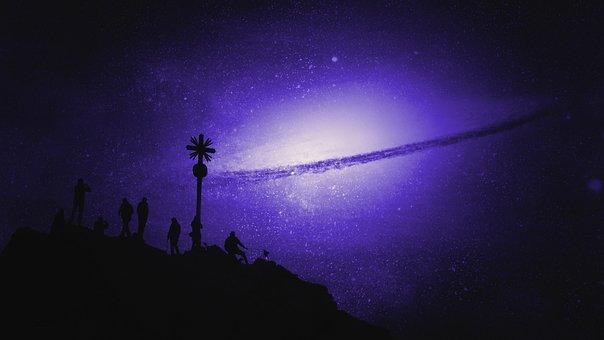 Galaxy, Stars, Solar System, Milky Way, Celestial