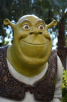Alien, Martian, Green, Monster, Mouth, Shrek, Troll