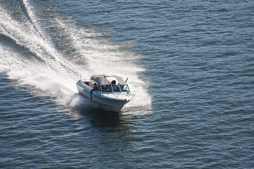 Speedboat, Boat, Sea, Ocean, Water, Nature, Outside