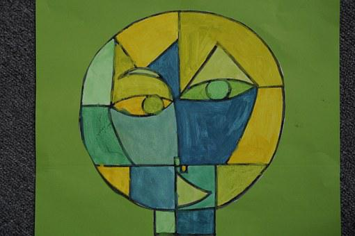 Art Class, Paul Klee, Watercolor, Paint, School