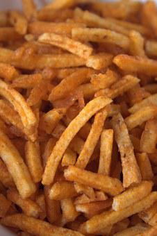 French Fries, Chips, Snack, Fast Food, Fried, Potatoes