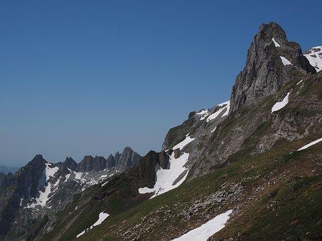 Lenses Ridge, Säntis, Silver Plates, Mountain, Alpine