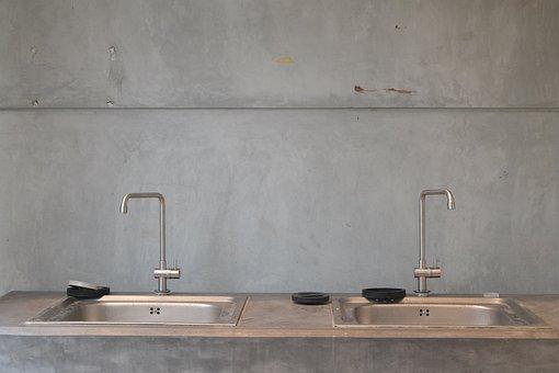 Wash, Dish, Water, Sink, Kitchen, Housework, Clean