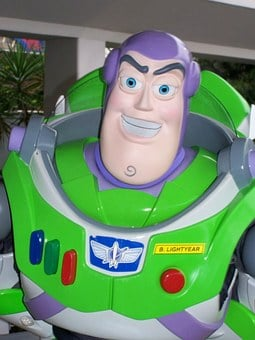 Disney, Magic Kingdom, Buzz Lightyear, Pixar, Toy Story