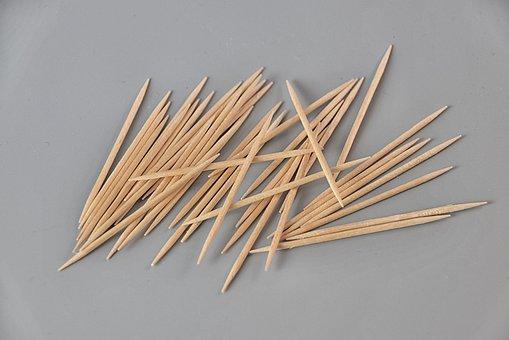 Toothpick, Wood, Hygiene, Dental Hygiene, Sting