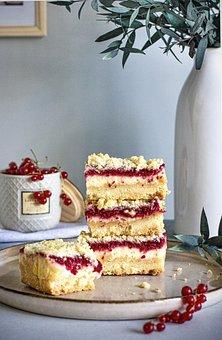 Redcurrant, Cake, Dessert, Berries, Sweet, Baked Goods