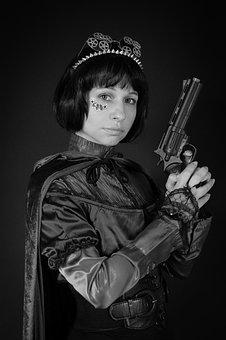 Steampunk, Woman, Portrait, Parabank, Fiction, Gothic