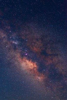 Milky Way, Stars, Sky, Night Sky, Starry, Night, Space